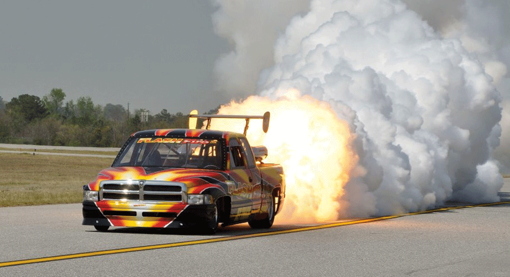 Flash Fire Jet Truck